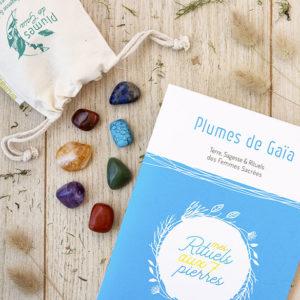 Coffret Pierres Sacrées Plumes de Gaïa