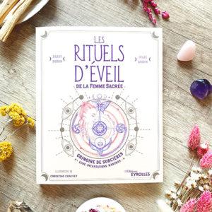 Livre Les Rituels d'Éveil de la Femme Sacrée de Daisy et Julie Bodin